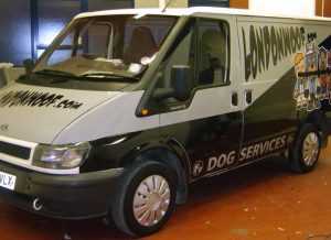 Van Livery London Woof