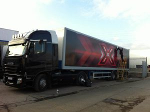 X Factor Trailer's Wrap