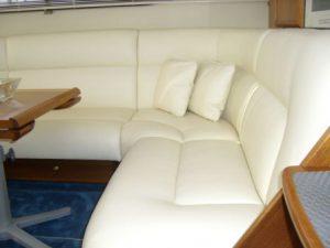Wnętrze łodzi