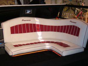 obszyty fotel