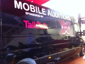 X Factor Trucks Wrapping