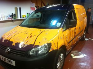 Caravan Yellow Wrap