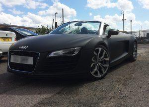 Audi R8 Black matt