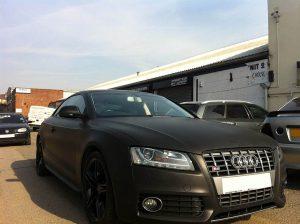 Audi S5 Black matt