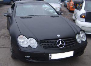 Mercedes SL Matt