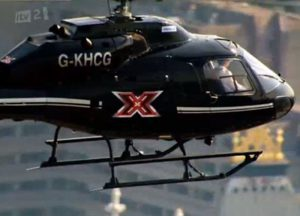 X Factor Helicopter Wrapping