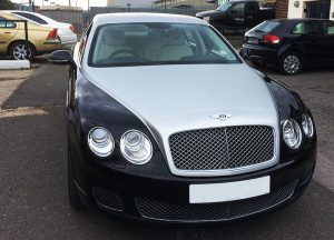 Bentley Swarovsky Two Tons edition wrapp