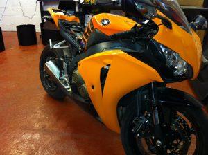 Motobike Orange Wrap