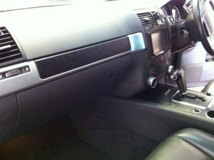 Leather Interior Dash Wrapping