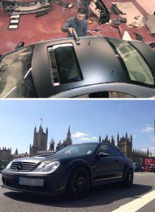 Mercedes CLK Conversion