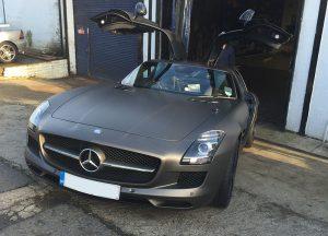 Mercedes SLS Szczesny